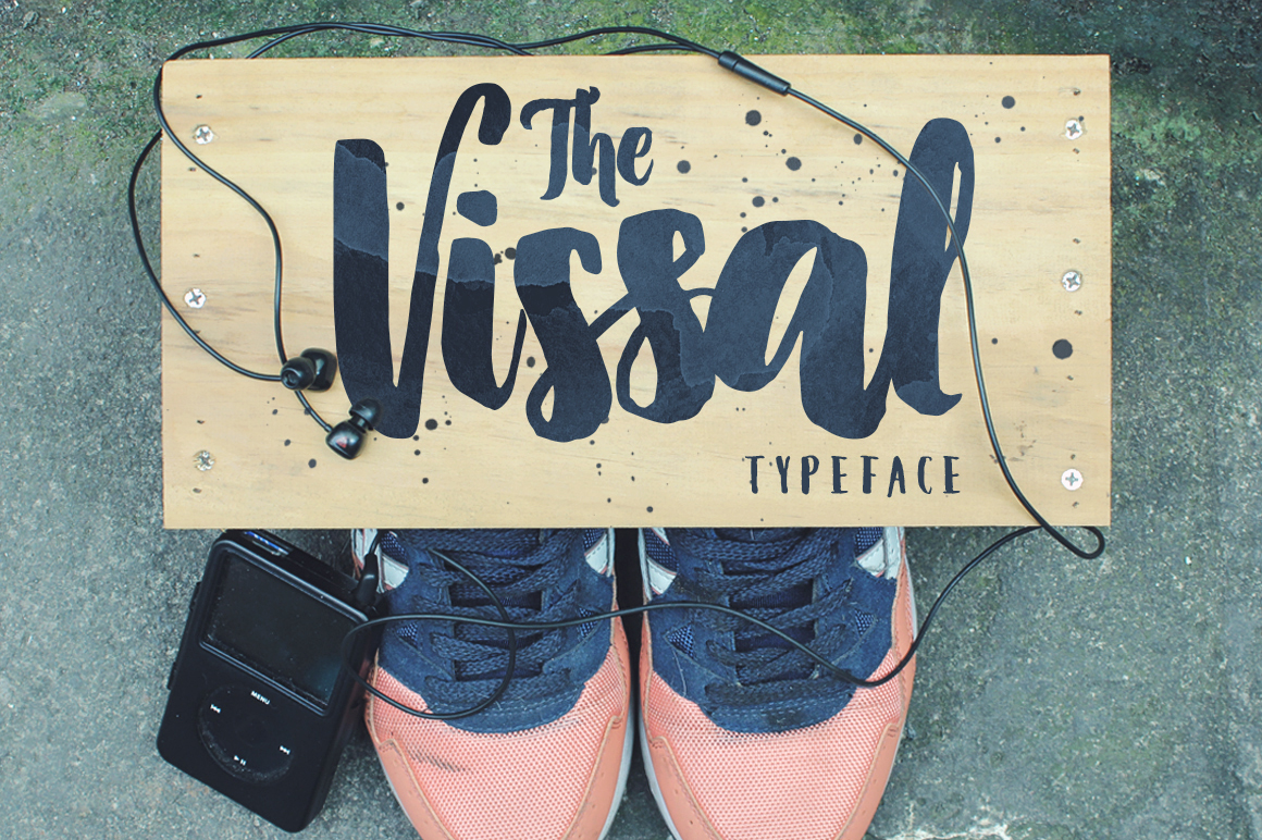 The-Vissal-Typeface