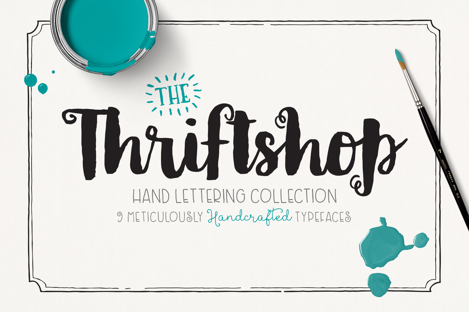 Thriftshop-Hand-Lettering-Collection
