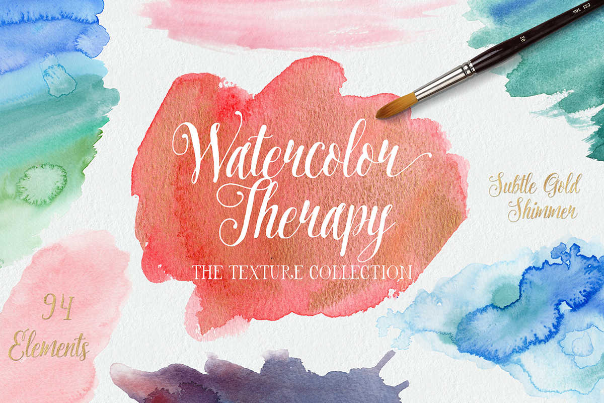 Watercolor-Therapy-Textures