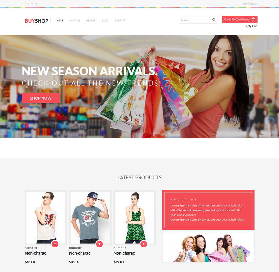 25 Perfect Free Html5 Ecommerce Website Templates Designazure