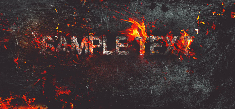 create-fire-burning-on-metal-text-effect-in-photoshop