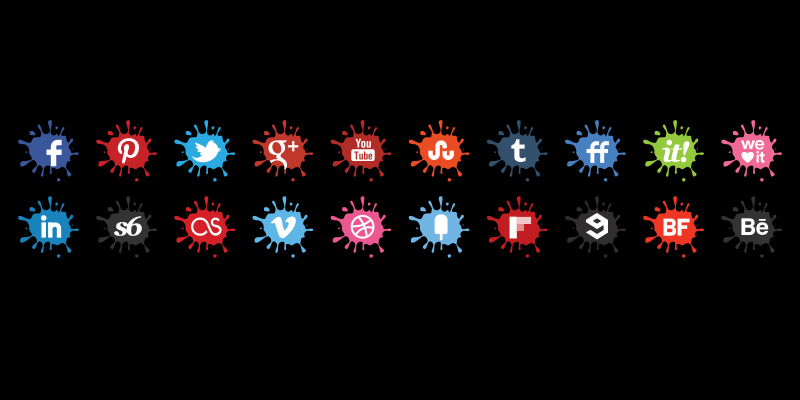 creative-blot-icons-set