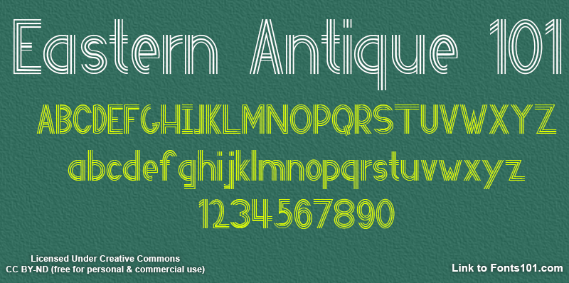 eastern-antique-font