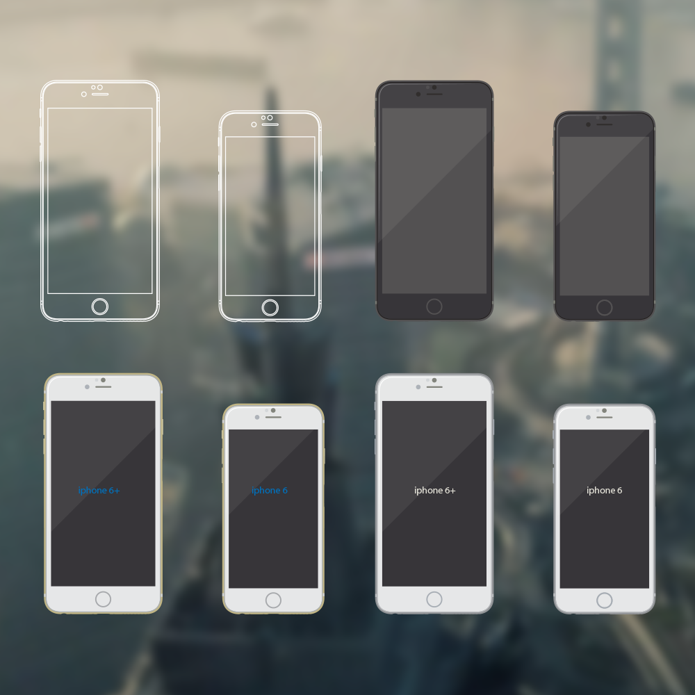 free-iphone-mockups-illustrations