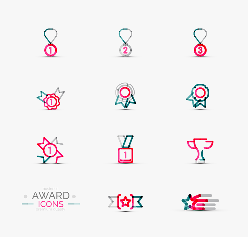 free-premium-business-award-icons