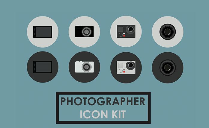 free-psd-photography-icons
