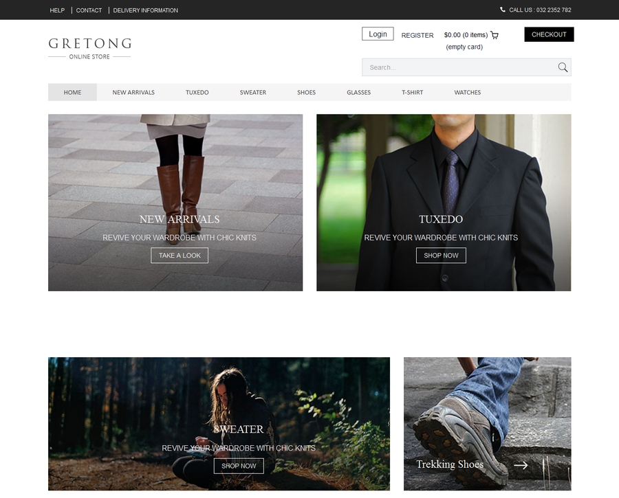 gretong-ecommerce-html-template