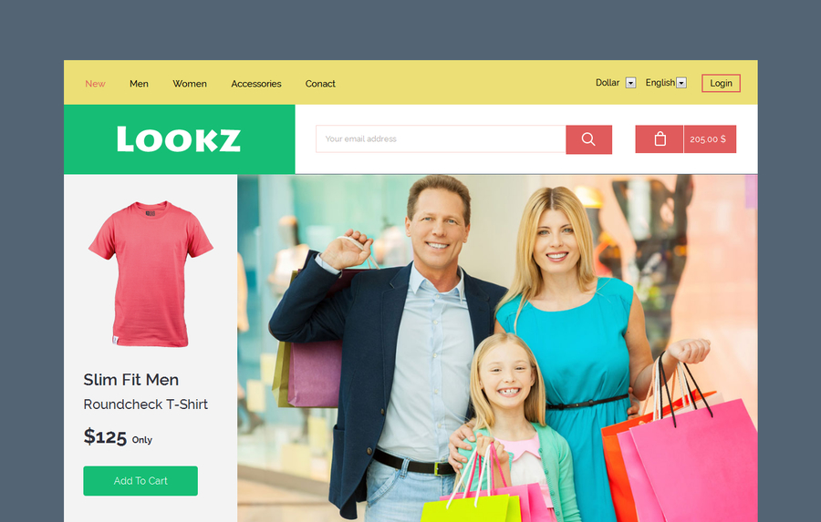 lookz-a-flat-ecommerce-bootstrap-responsive-web-template