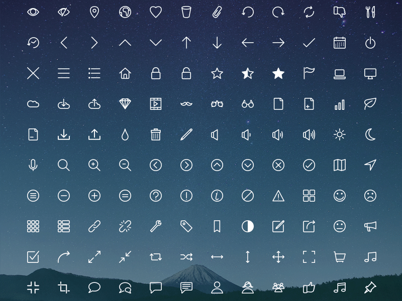 rivolicons-free-icon-set
