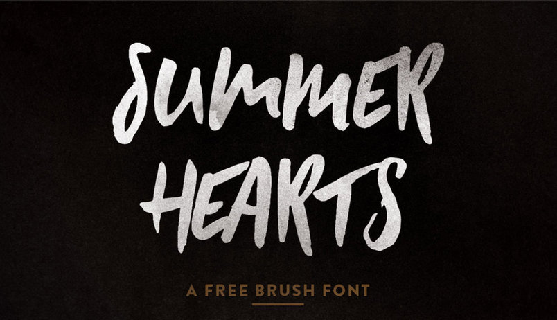 summer-hearts-free-font-1