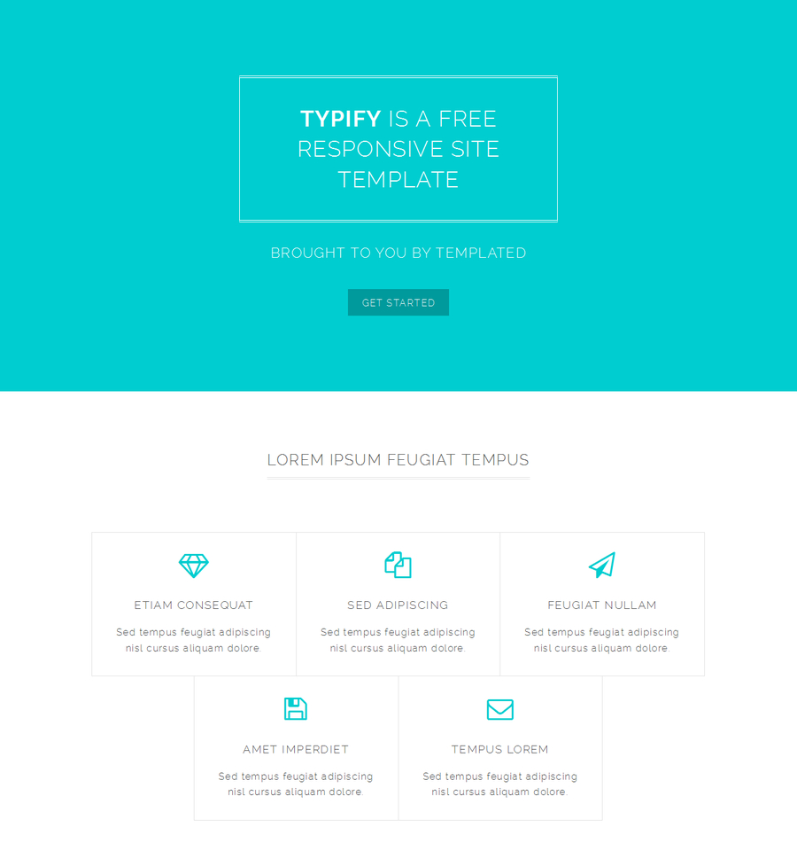 typify-free-responsive-html-template