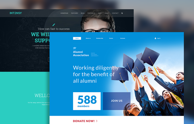 10 Latest Premium HTML5 Website Templates / October, 2015 ...