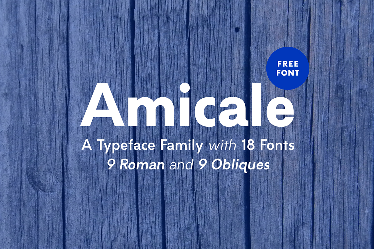 Amicale-Typeface