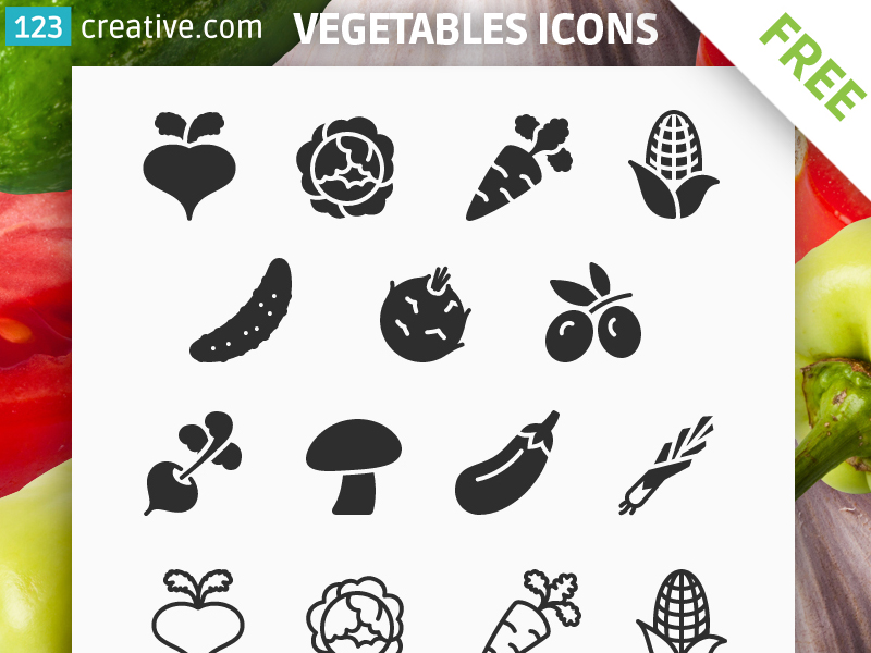FREE-Vegetables-icons
