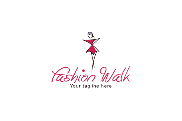 Fashion-Walk-Stock-Logo-Template