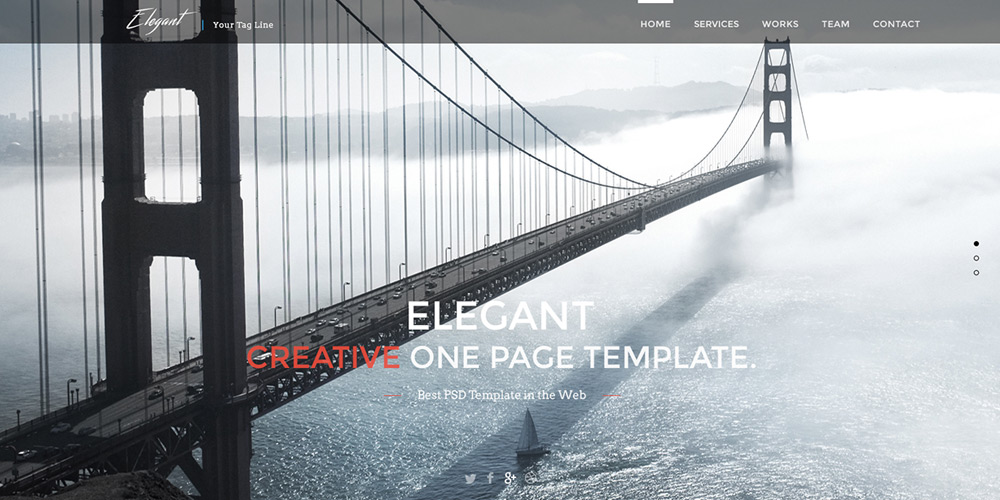Free-Elegant-One-Page-Web-Template-PSD
