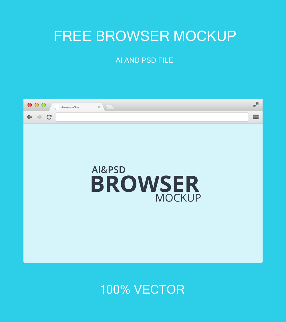 Freebie-Browser-Mockup