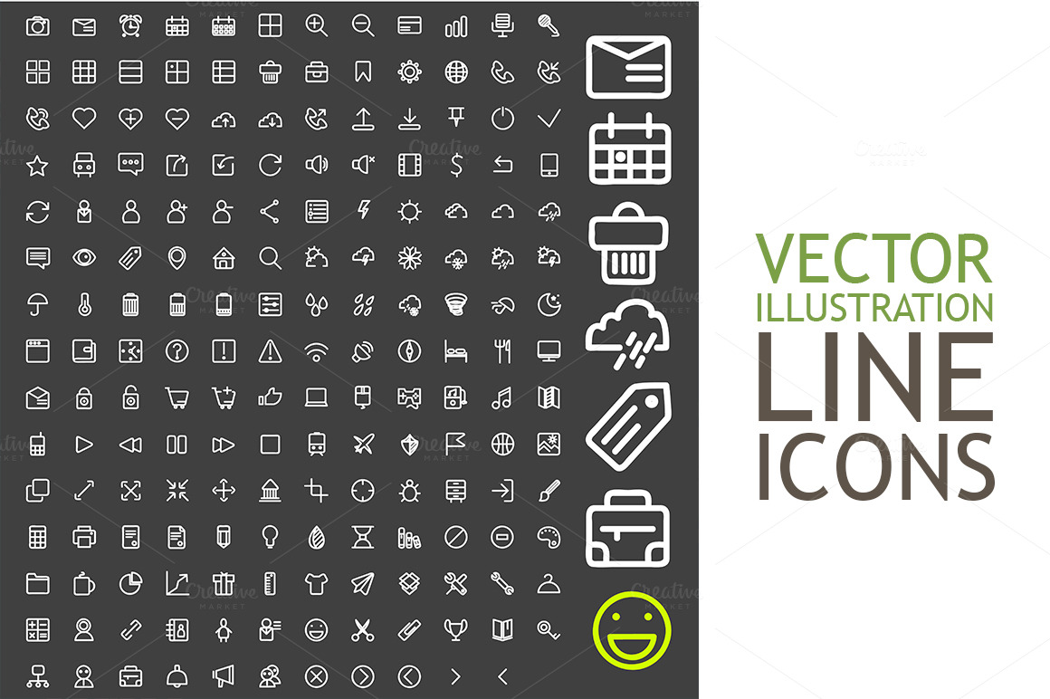Line-Icons-For-Applications-And-Web