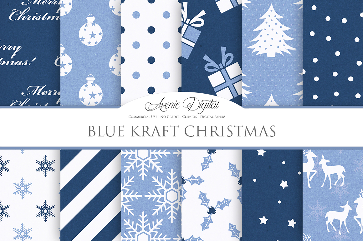 Navy-Blue-Christmas-Digital-Paper