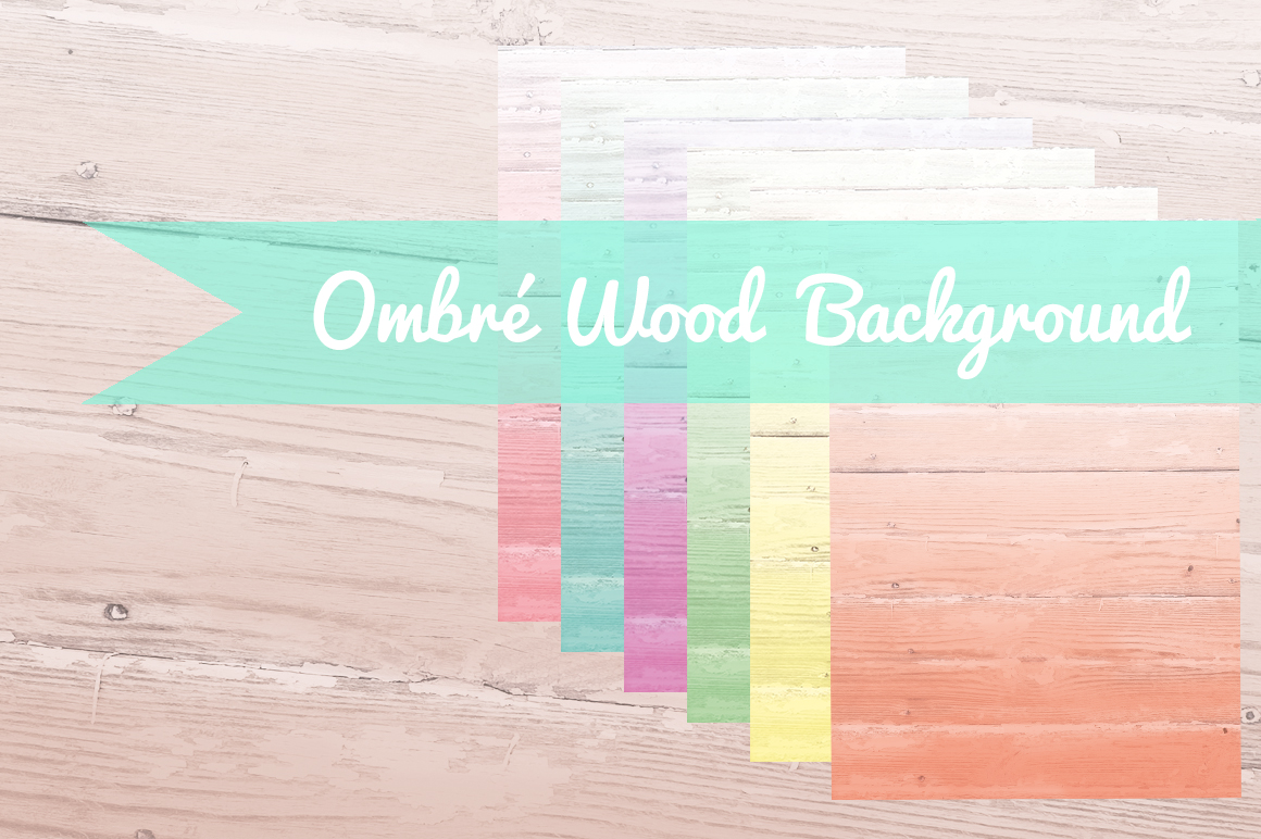 Ombré-Wood-Background