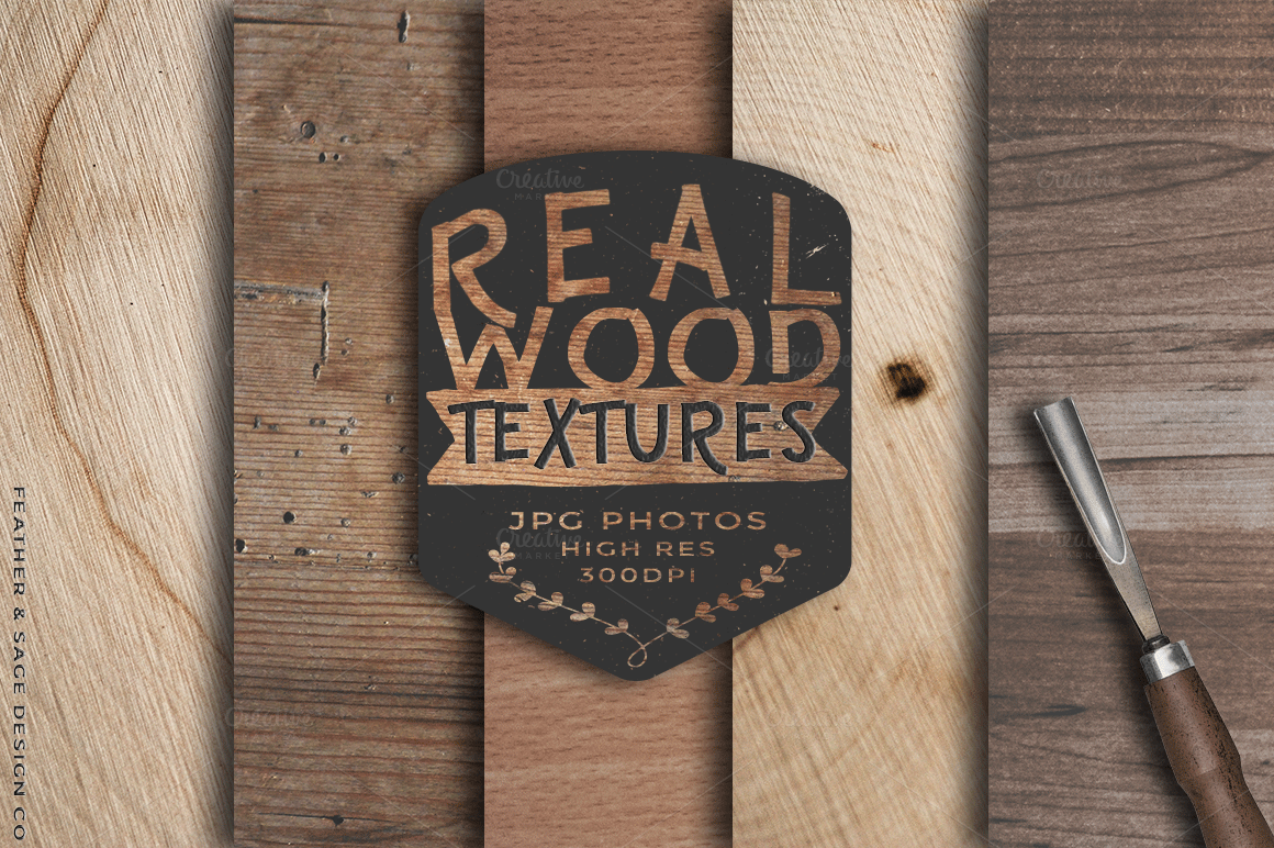 Real-Wood-Photo-Textures