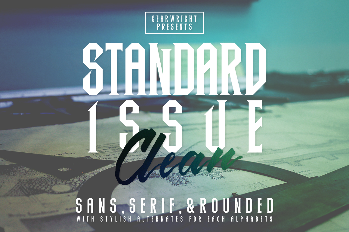 Standard-Issue-Clean-Typeface