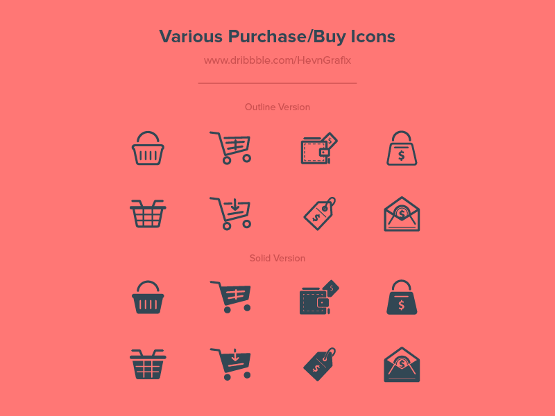 Various-Purchase-Buy-Icons