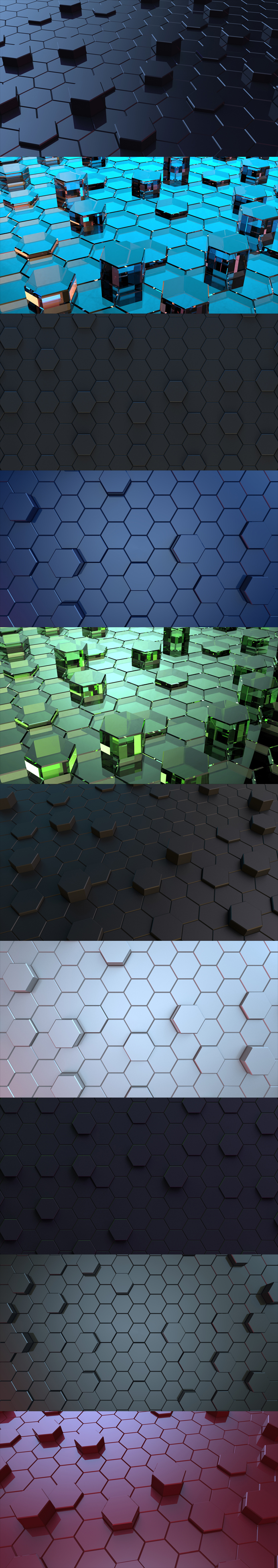 free-hexagonal-3d-backgrounds