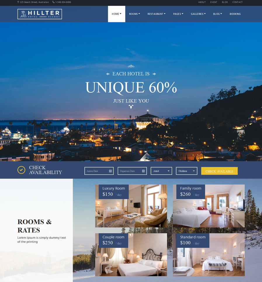 hillter-responsive-hotel-booking-for-wordpress