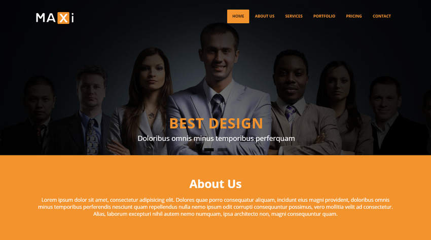 maxi-business-html5-bootstrap-website-template