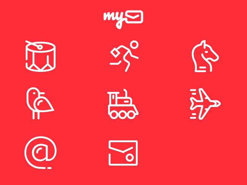 mymail-game-icons