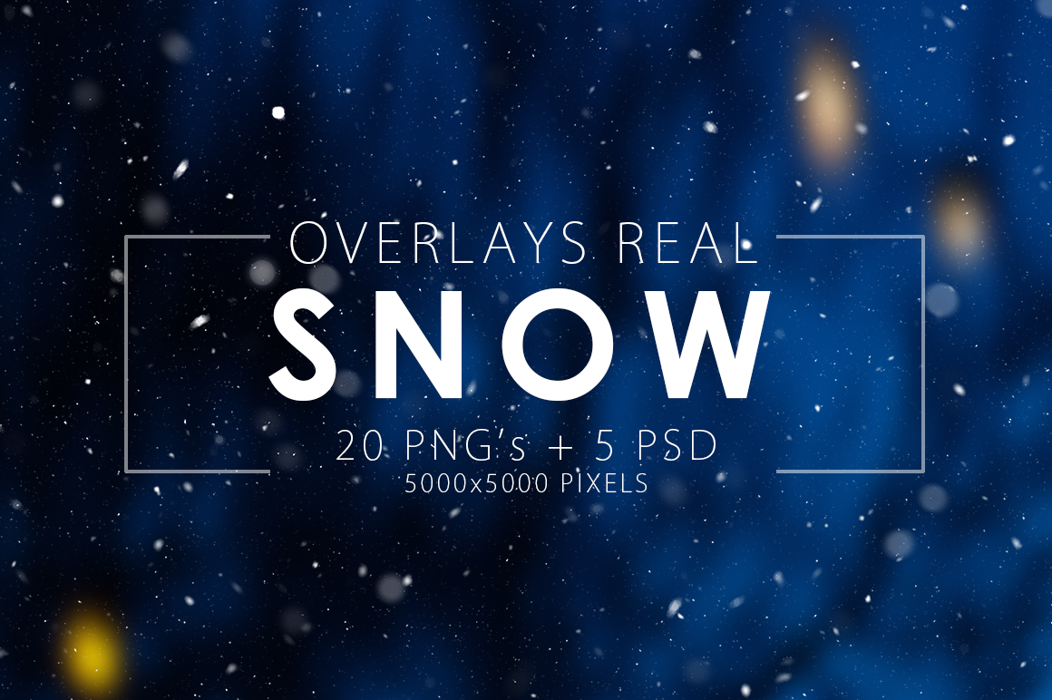 real-snow-overlays