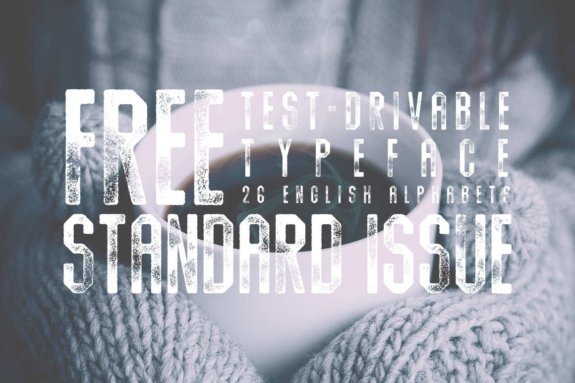 standard-issue-typeface