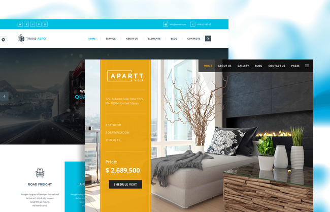 10 Latest Premium HTML5 Website Templates / November, 2015 ...