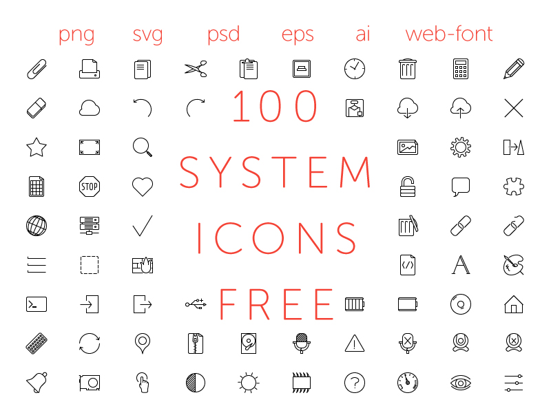 Download Free Business Icons 100 Vectors 10