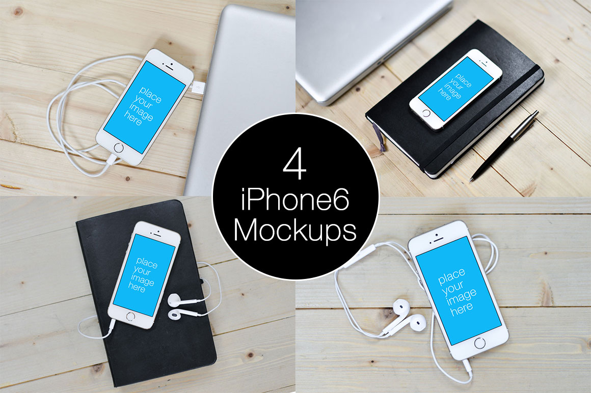 4-iPhone-6-Mockup-Templates