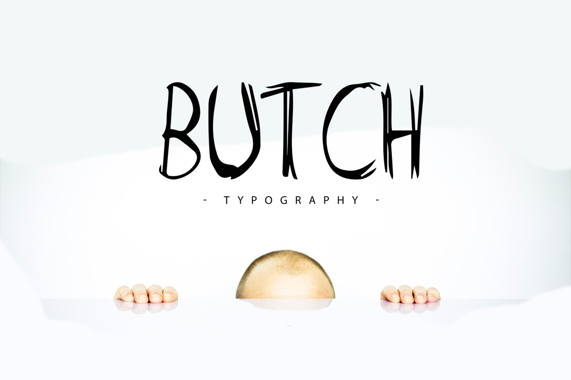 Butch-Free-Marker-Typeface
