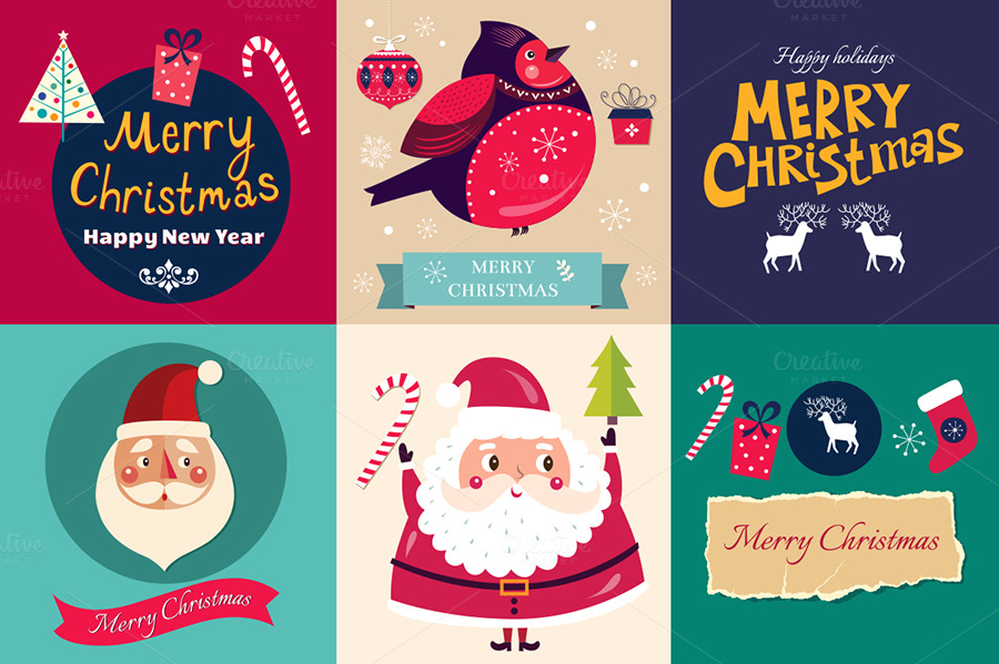 Christmas-badges-and-cards