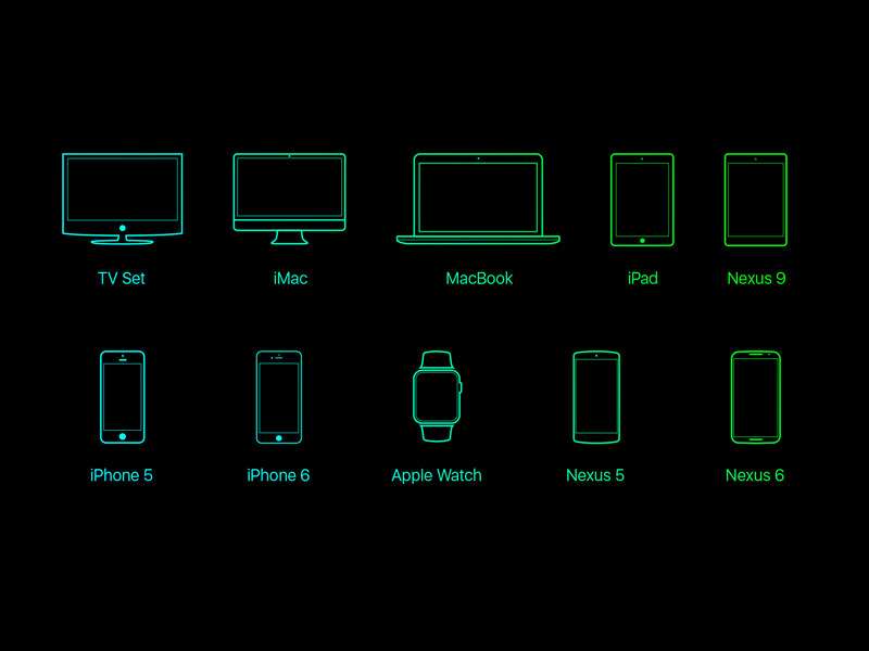 Devices-vector-freebie