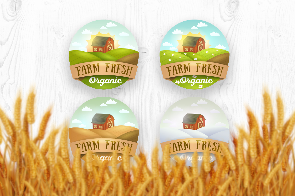 Farm-Fresh-logos-emblems-stickers
