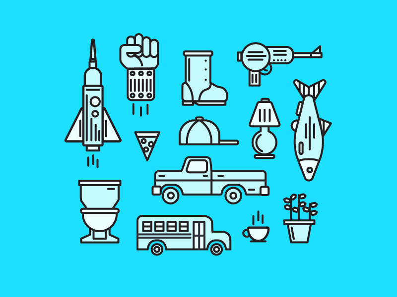 Favorite-Objects-Icons