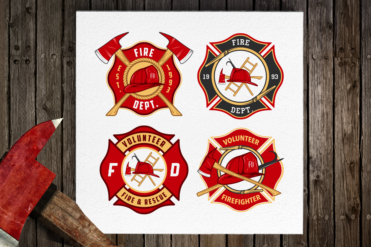 Fire-department-emblems-and-patches