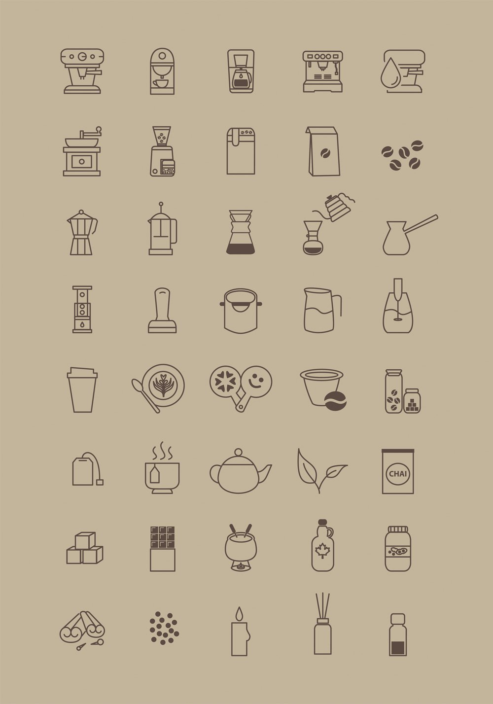 Free-Icons-for-Coffee-Store