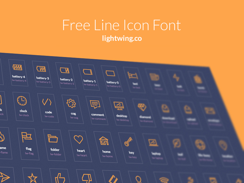 Free-Lightwing-Icon-Font