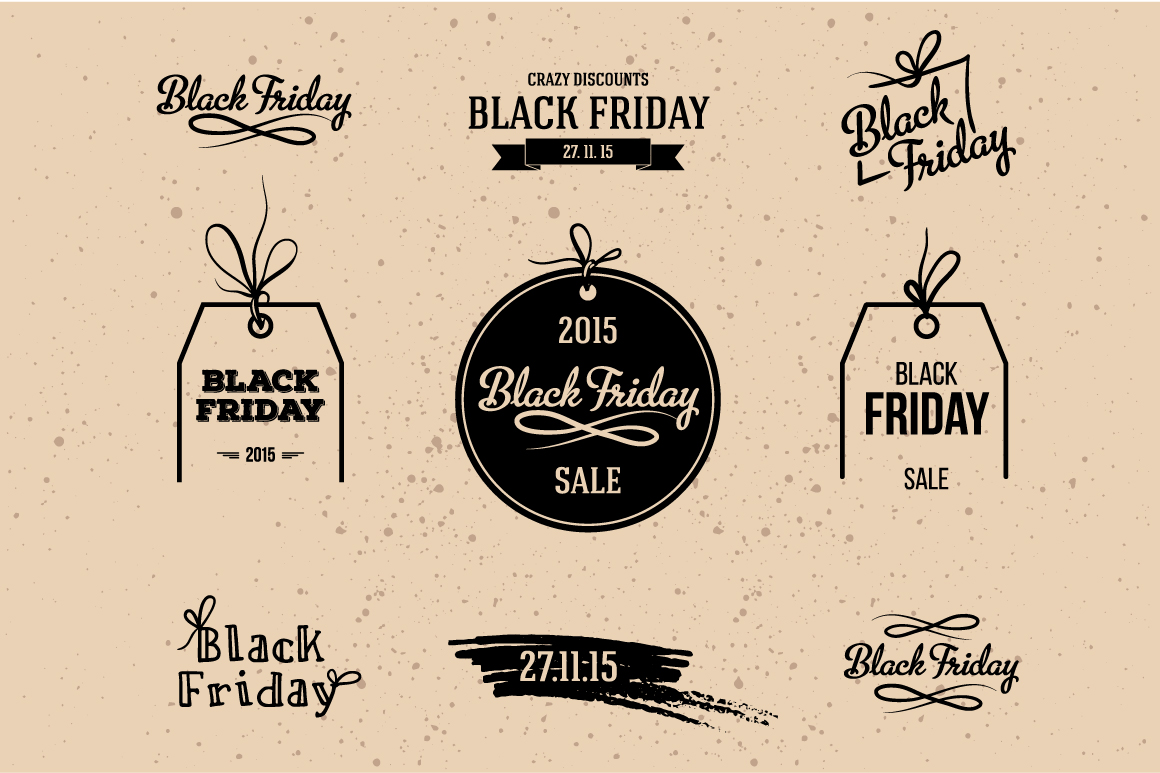 Set-of-Black-Friday-labels