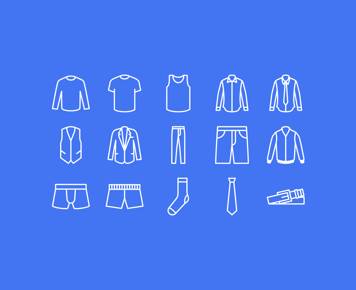 clothing-icons