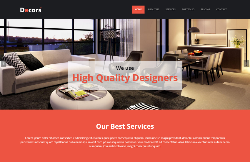decors-html5-interior-design-website-template