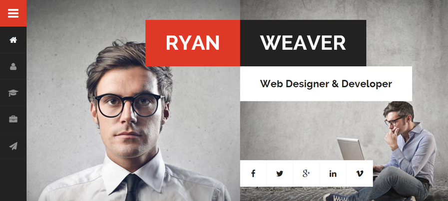 divergent-personal-vcard-resume-wordpress-theme