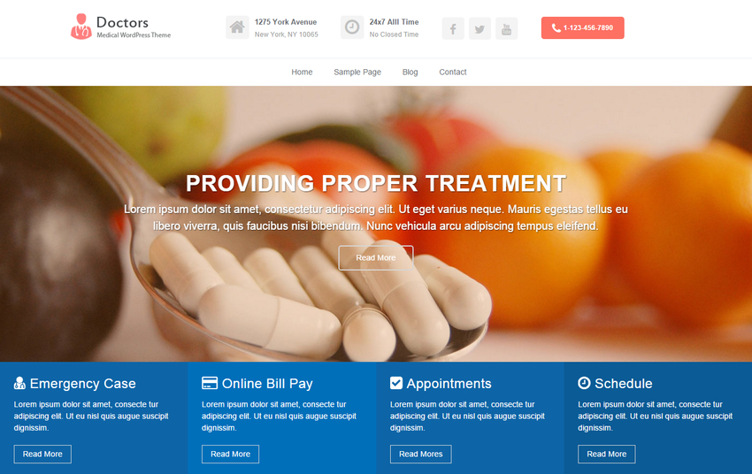 doctors-free-medical-wordpress-theme
