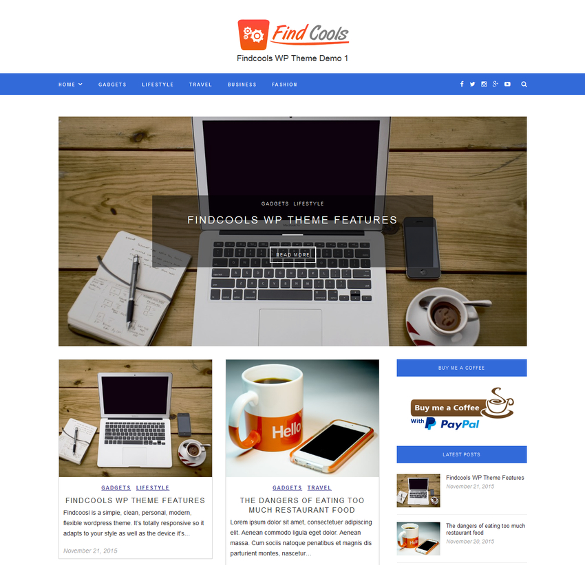 findcools-free-wordpress-theme